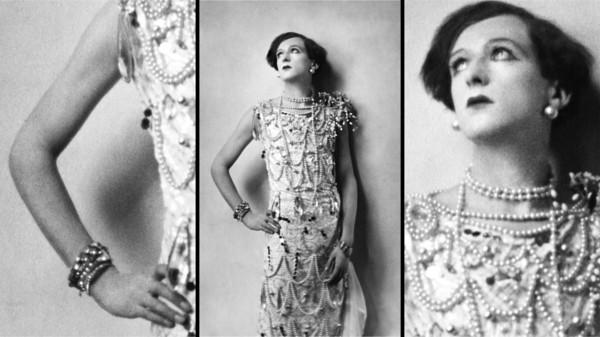 Cecil Beaton déguisé en femme