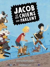 Jacob et les chiens qui parlent, affiche
