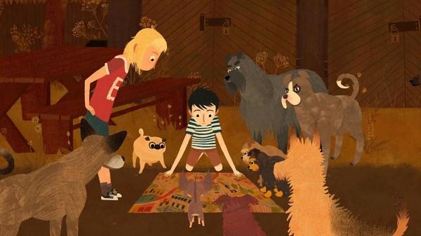 Mimi, Jacob et les chiens
