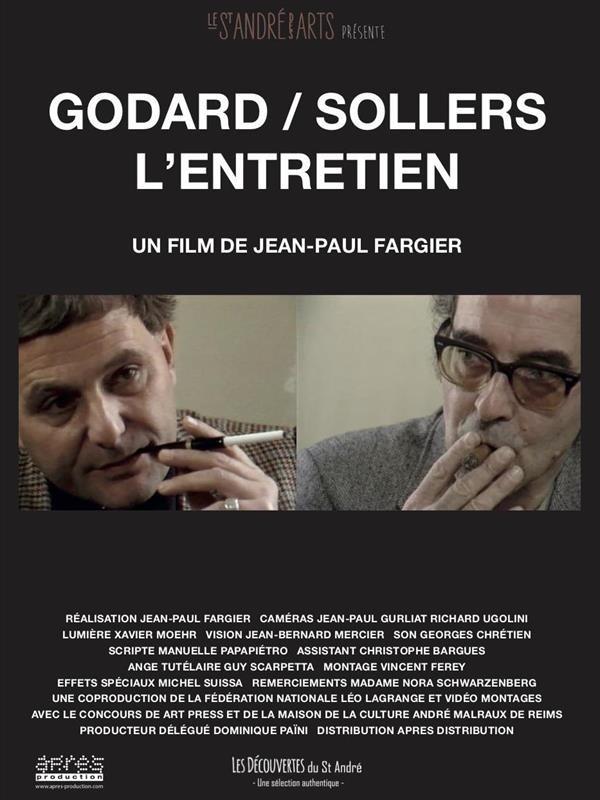 Godard / Sollers : L'Entretien, affiche