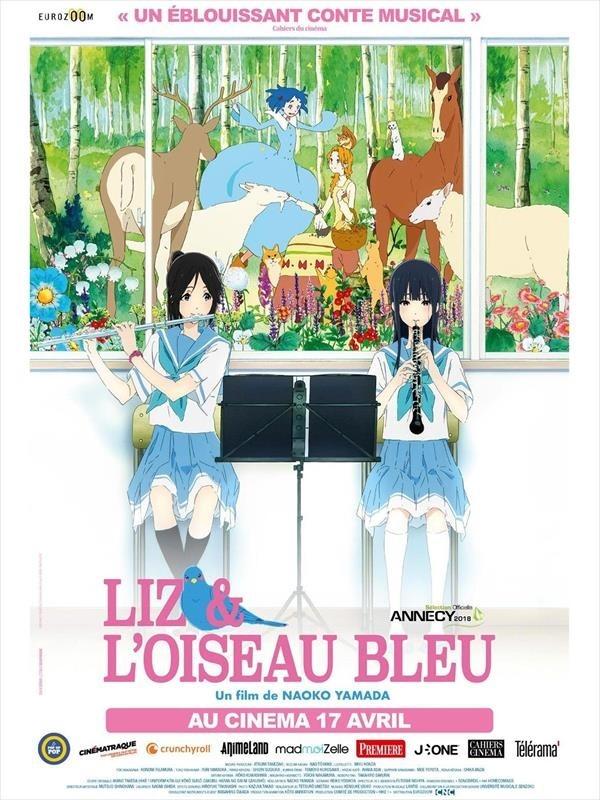 Liz & l'oiseau bleu, affiche