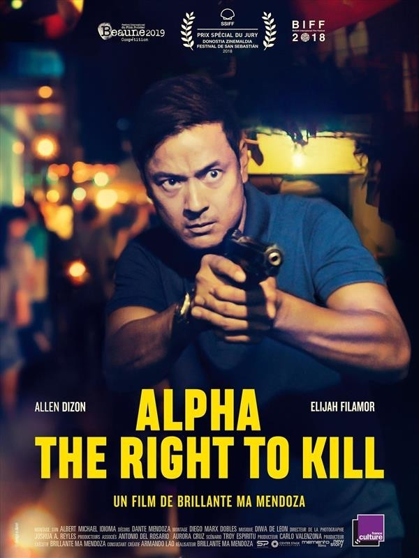 Alpha : The Right to Kill, affiche