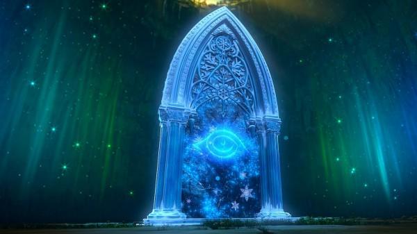 Le Portail magique du monde des miroirs