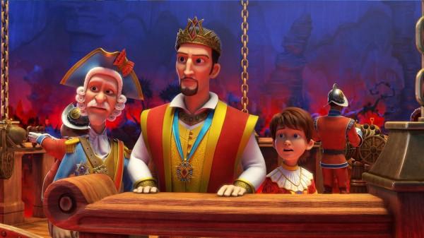 L'Amiral, Harald, Louis
