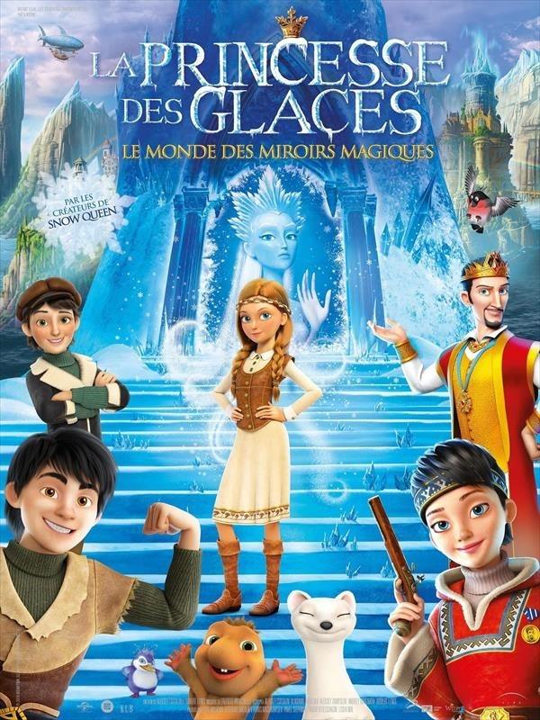 La Princesse des Glaces : Le Monde des miroirs magiques, affiche