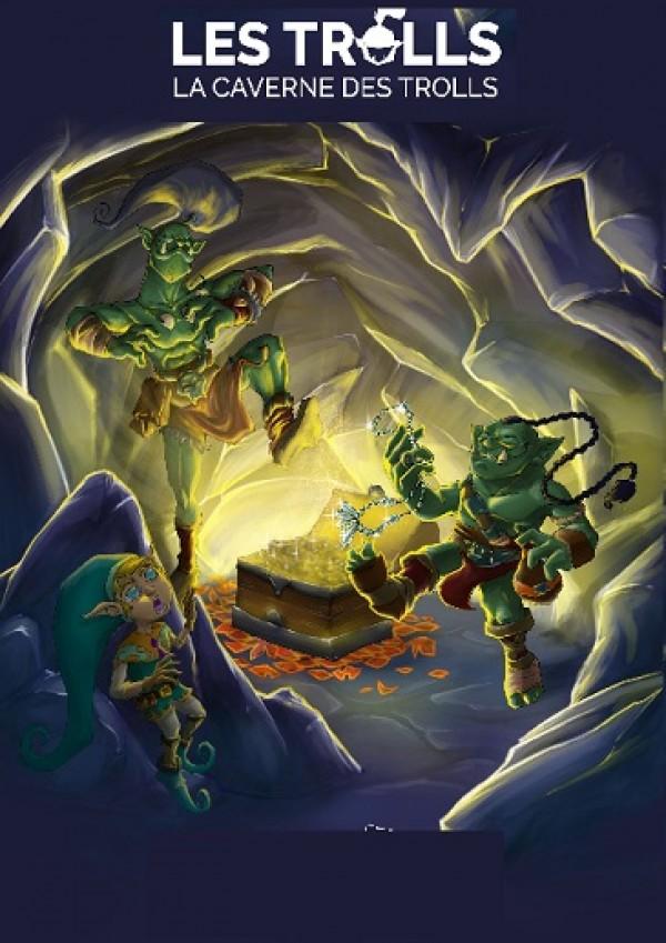La Caverne des trolls - Affiche