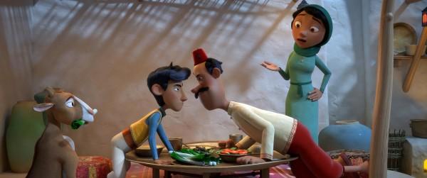 Raya, Amir, le père, la mère