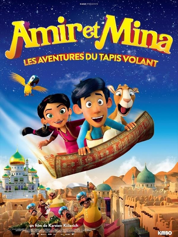 Amir et Mina : Les Aventures du tapis volant, affiche