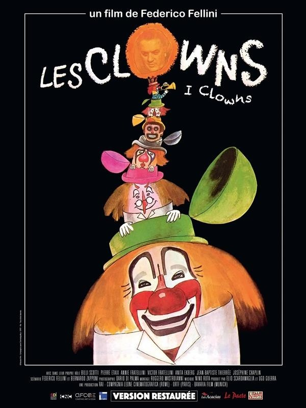 Les Clowns, affiche version restaurée