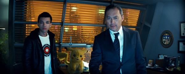 Justice Smith, Détective Pikachou, Ken Watanabe