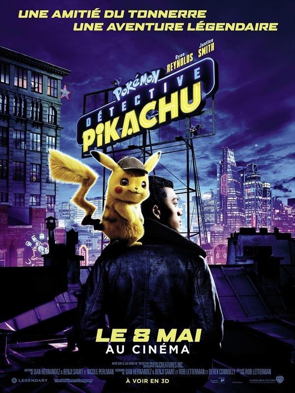 Pokémon Détective Pikachu, affiche