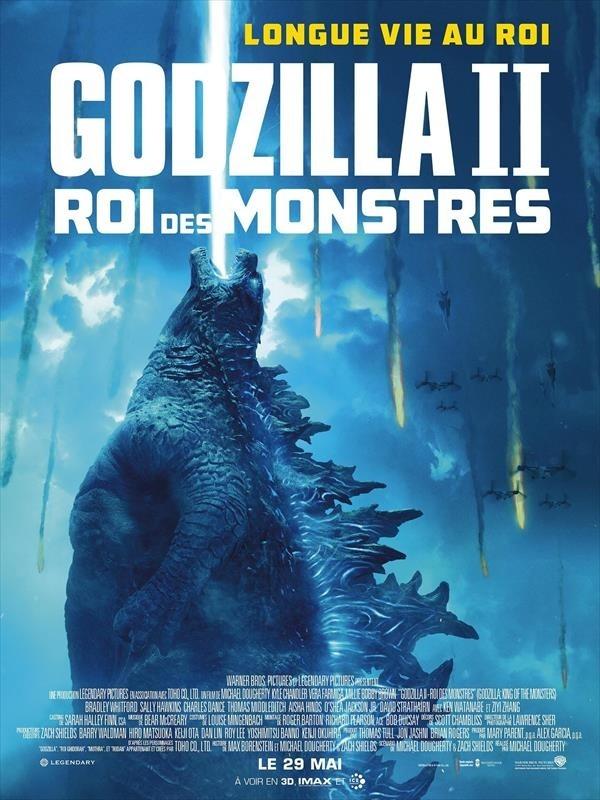 Godzilla II : Roi des monstres, affiche