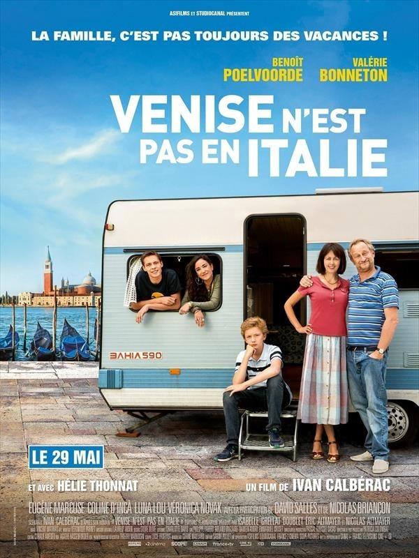 Venise n'est pas en Italie, affiche