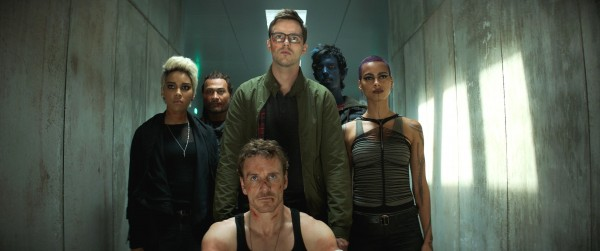Alexandra Shipp, Andrew Stehlin, Michael Fassbender, Nicholas Hoult, Kodi Smit-McPhee, personnage