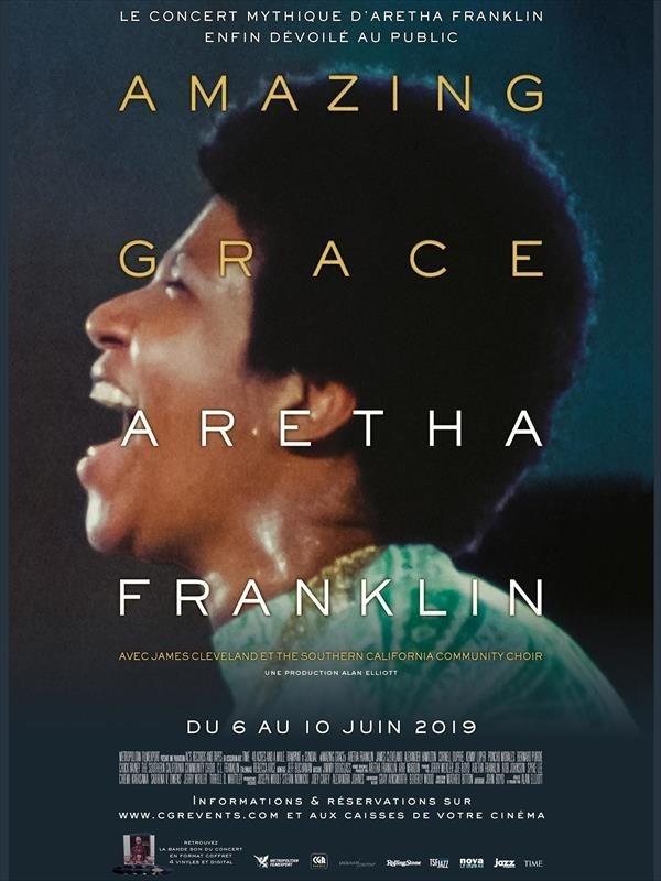 Amazing Grace : Aretha Franklin, affiche