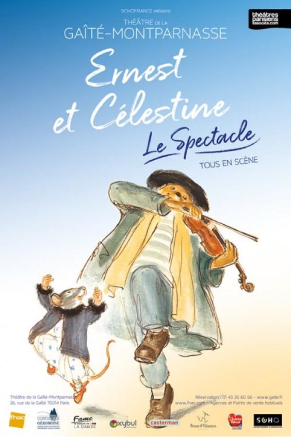 Ernest et Célestine au Théâtre de la Gaîté-Montparnasse