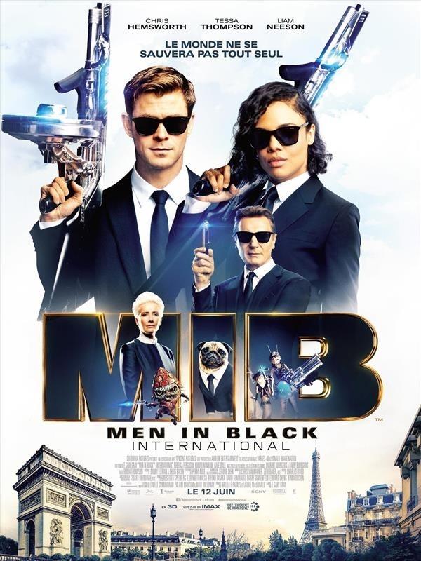 Men in Black International, affiche