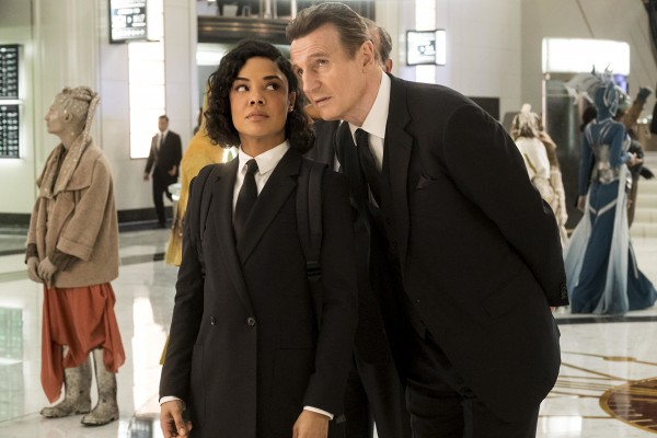 Tessa Thompson, Liam Neeson
