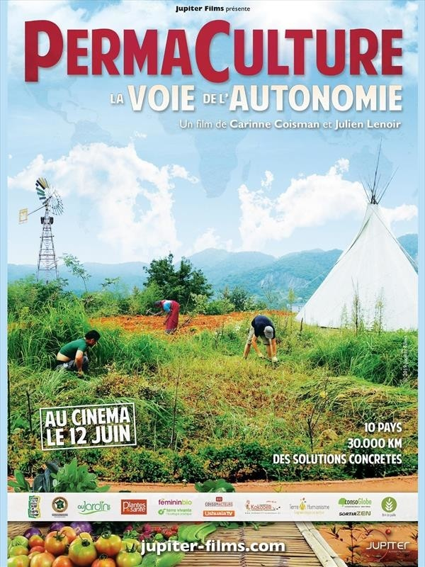 Permaculture, la voie de l'Autonomie, affiche