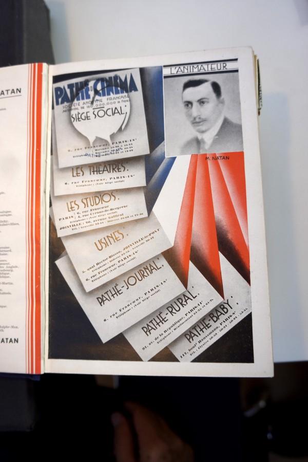 Toutes les sociétés Pathé Natan - Pub 1933.