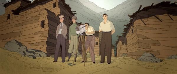 Ramón Acín, personnages, Luis Buñuel