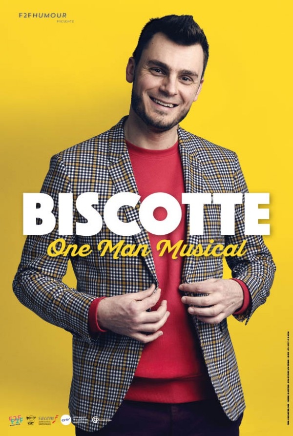 Biscotte : One Man Musical - Affiche