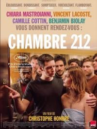 Chambre 212, affiche