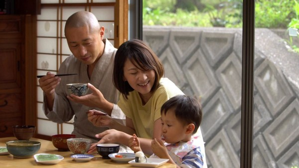 Chiken Kawaguchi avec sa famille