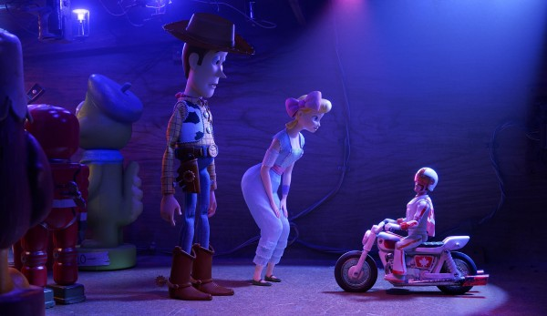 Woody, Bo Peep, Duke Caboom
