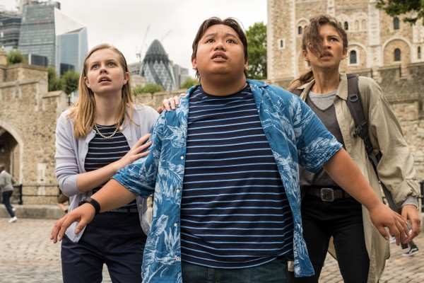 Angourie Rice, Jacob Batalon, Zendaya