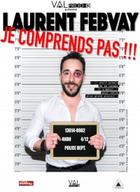 Laurent Febvay : Je comprends pas !!! - Affiche