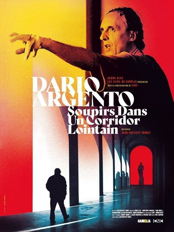 Dario Argento : Soupirs dans un corridor lointain, affiche