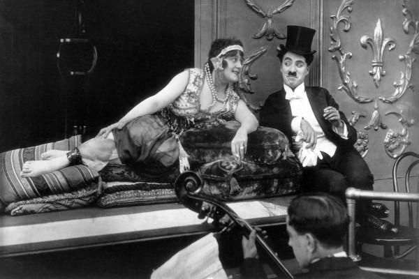 May White , Charles Chaplin
