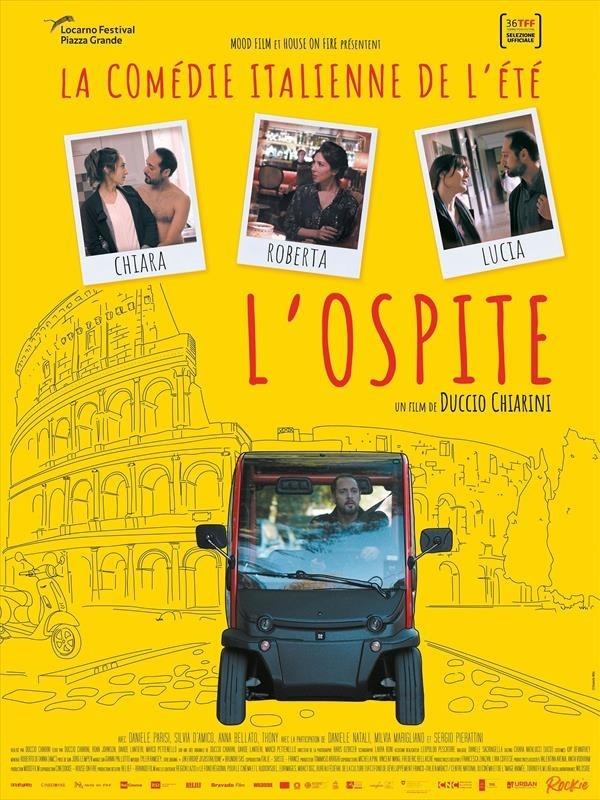 L'Ospite, affiche