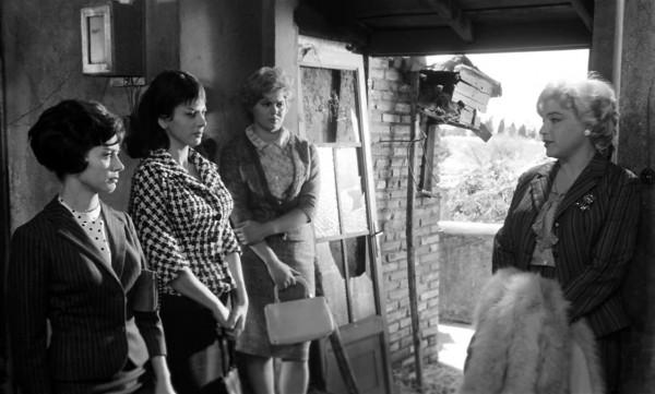 Emmanuelle Riva, Sandra Milo, Gina Rovere, Simone Signoret