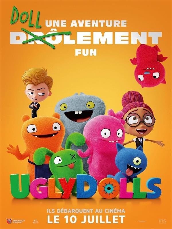 UglyDolls, affiche