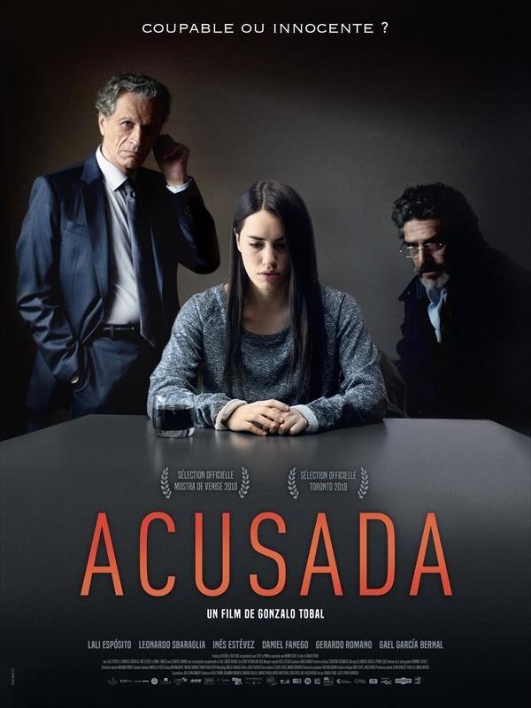 Acusada, affiche