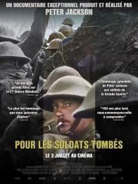 Pour les soldats tombés, affiche