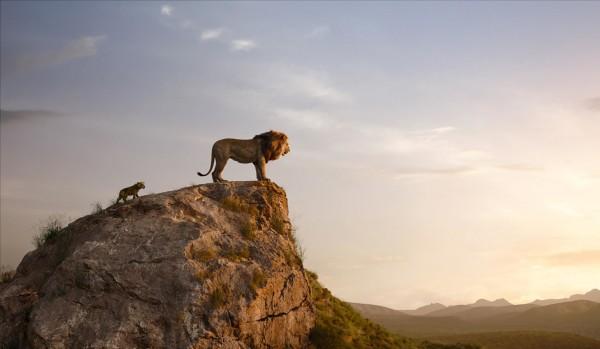 Simba jeune, Mufasa