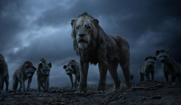 Scar, les hyènes