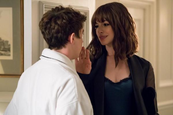 Alex Sharp (II), Anne Hathaway