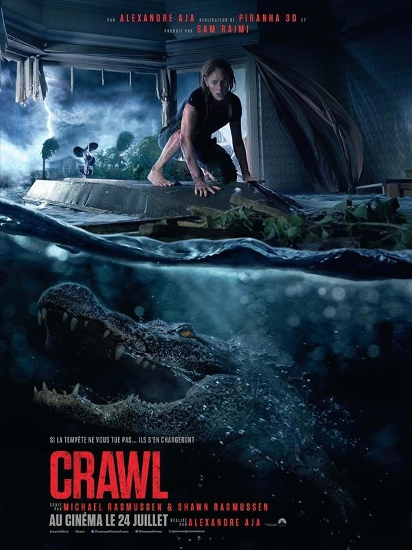 Crawl, affiche