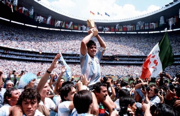 Diego Maradona, la Coupe du Monde de Football de 1986 au Mexique