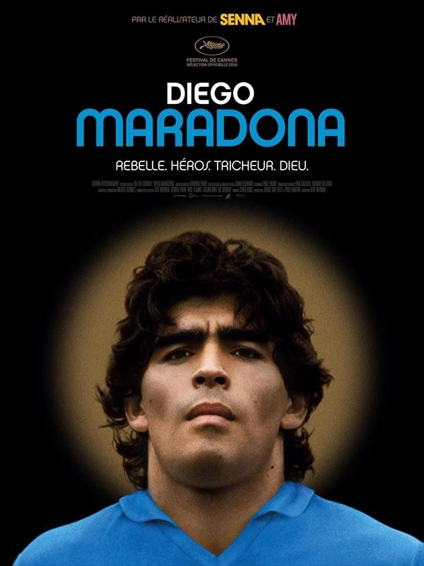 Diego Maradona, affiche
