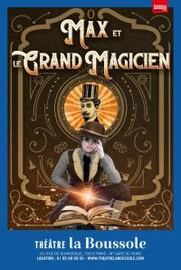 Max et le grand magicien au Théâtre La Boussole