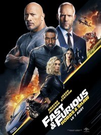 Fast & Furious : Hobbs & Shaw, affiche