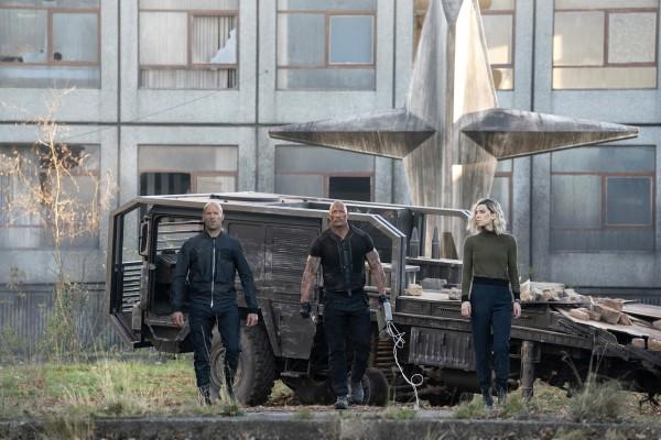 Jason Statham, Dwayne Johnson, Vanessa Kirby