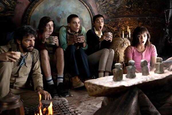 Eugenio Derbez, Nicholas Coombe, Jeffrey Wahlberg, Madeleine Madden, Isabela Moner