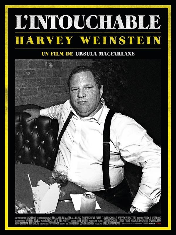 L'Intouchable, Harvey Weinstein, affiche