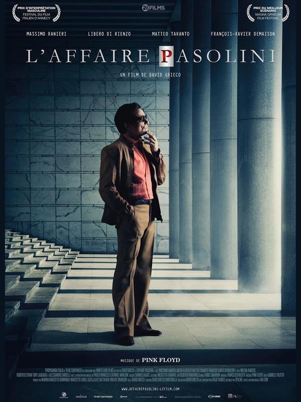 L'Affaire Pasolini, affiche